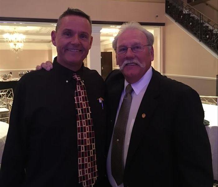 Bob Morrison with Sparky Lyle at BOMA-NJ
